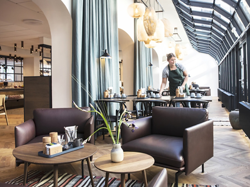 Hotel Kong Arthurs nye morgenmadsrestauran